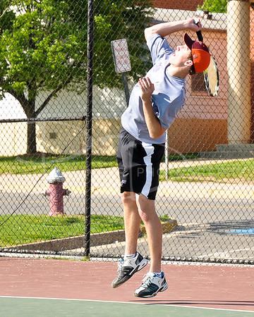 Chantilly Boys Tennis v Herndon Hornets, Tuesday, April 26, 2011