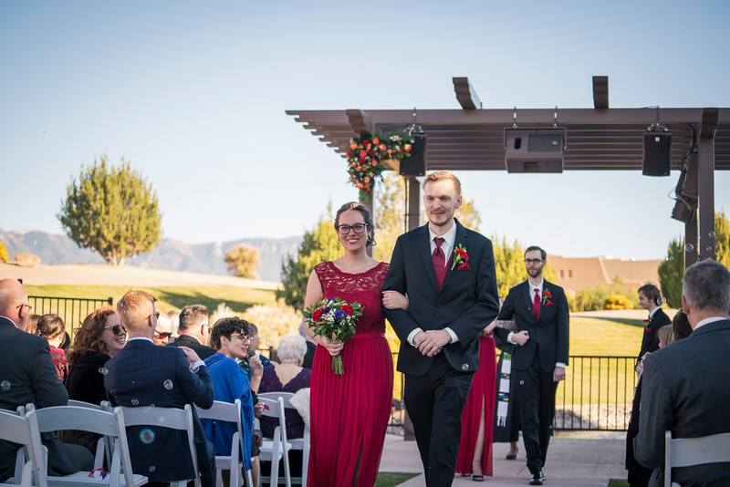 Sandia Hotel Casino New Mexico October Wedding Ceremony C&C-57.jpg