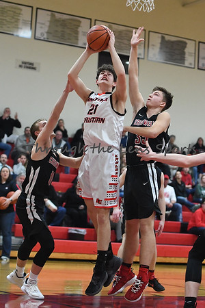 Santiam Christian vs. Creswell Boys HS Basketball