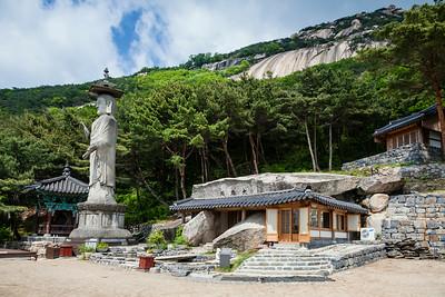 Bukhansan National Park Korea