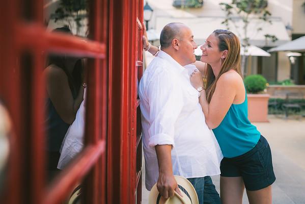 Gene + Arielle Pasadena Engagement