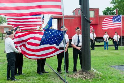Everest Veterans Memorial 2012