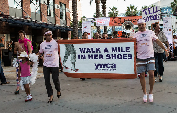 Walk a mile in her shoes 2014