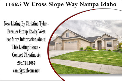 11625 W Cross Slope Way Nampa Idaho - Christine Tyler