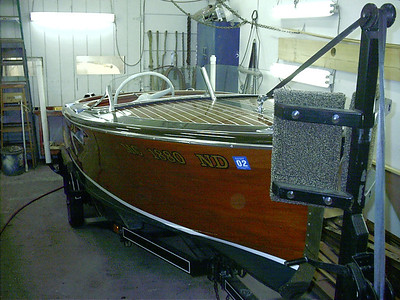1947 Chris Craft Deluxe.