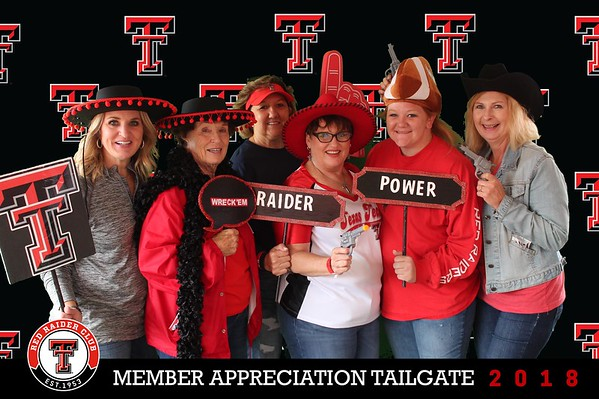 Red Raider Club Member Appreciation Tailgate