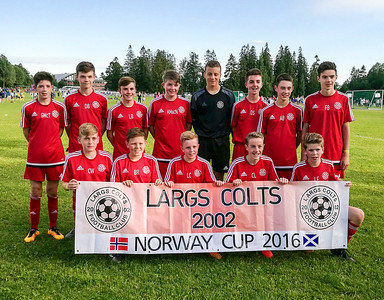 Largs Colts 2002 @ Norway Cup 2016 - Oslo