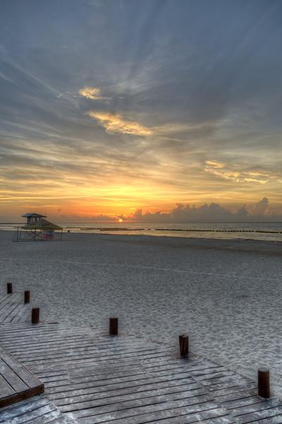 Sunrise - Playa del Carmen, Mexico - August 15, 2014