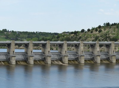 Tuttle Creek Dam  - May 15, 2019