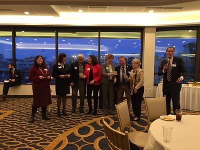 2017 Political Science & Public Admin Speed Netweorking & Alumni Event in Madison