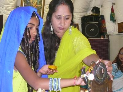 Diaya's 10th Birthday Pooja