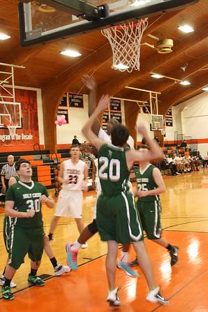 Varsity Basketball vs. Holy Cross - Senior Night