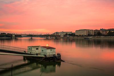 (1) River Danube Views Budapest