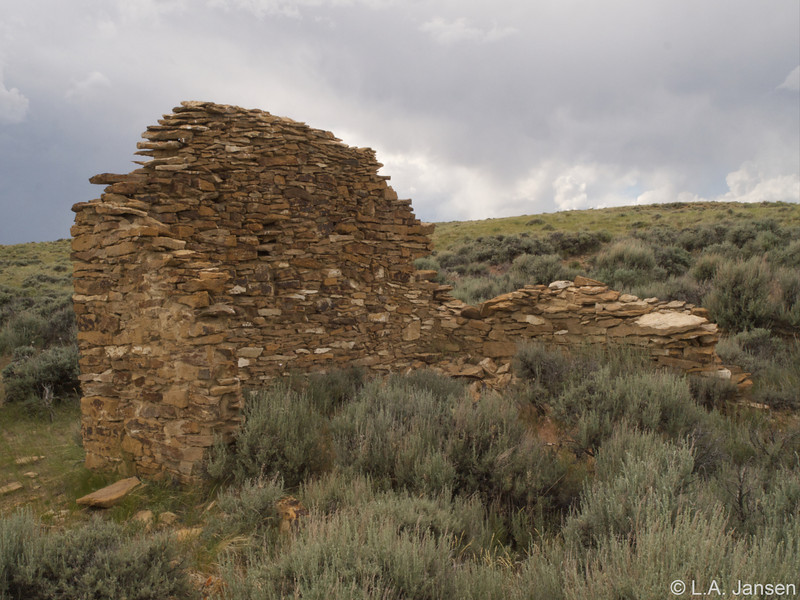 Carbon ghost town ruins
