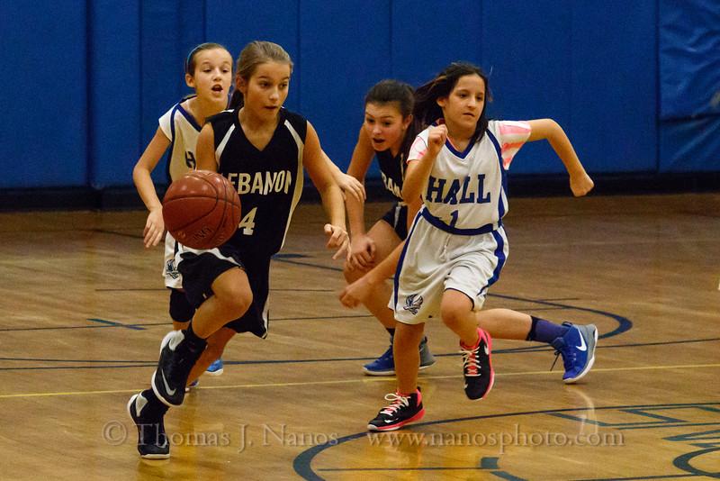 Lebanon Middle School Girls Basketball (JV) at Willington