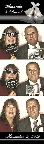 Amanda & David's Wedding  -  11/9/19