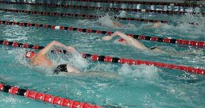 Men's Swimming Vs. Bellarmine