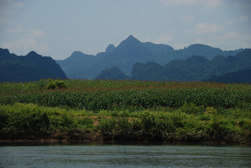 Mountain view at Phong Nha National Park