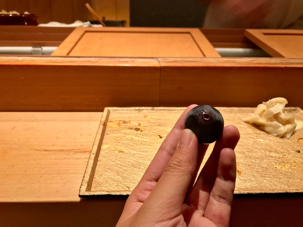 A grape.