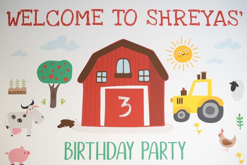Shreyas - 3rd birthday party