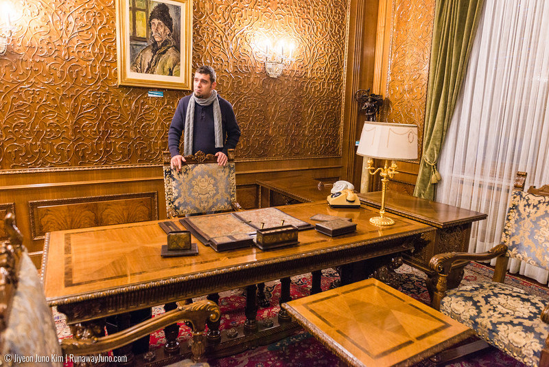 Nicolae Ceausescu's office