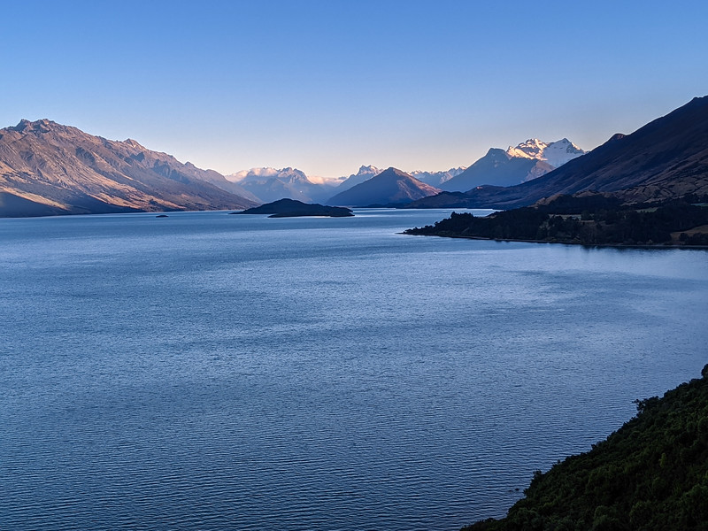 "The ""Million Dollar View"" on our way to Glenorchy"