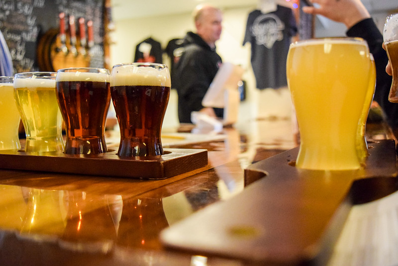 Flight of Four at Fairfield Craft Ales