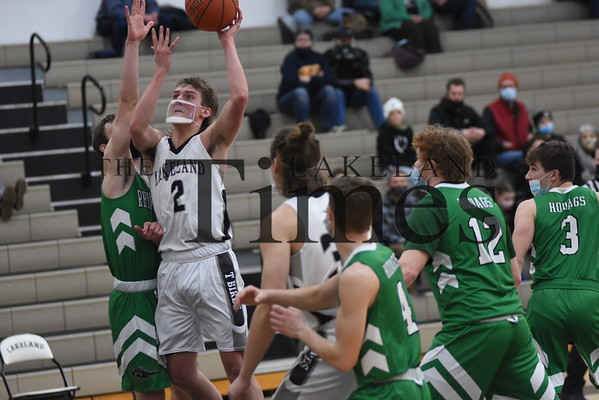 LUHS Boys' Basketball vs. Rhinelander February 8, 2021