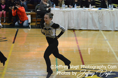 01/18/2014 Richard Montgomery HS Poms Division 2 at Damascus HS, Photos by Jeffrey Vogt Photography & Kyle Hall