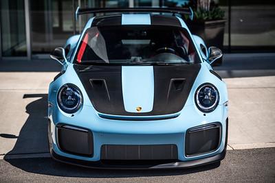 Porsche Oakville GT2RS Gulf Blue