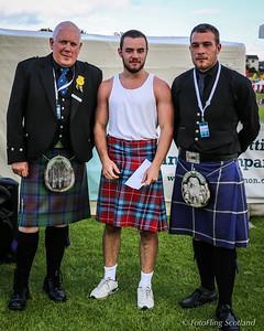 Scottish Backhold Wrestling Prize Winner - Paul Craig