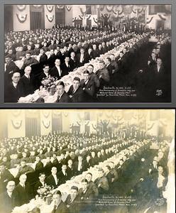 WWI Am Legion 1st Anniv 1919