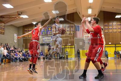 Boys basketball vs Ripon 2017