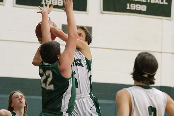 WUHS Boys Basketball vs Leland and Gray