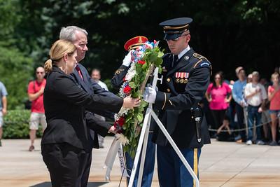 KPMG Veterans Network 2019 Wreath Laying