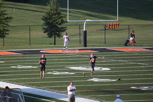 Isaac's First College Game - Georgetown College