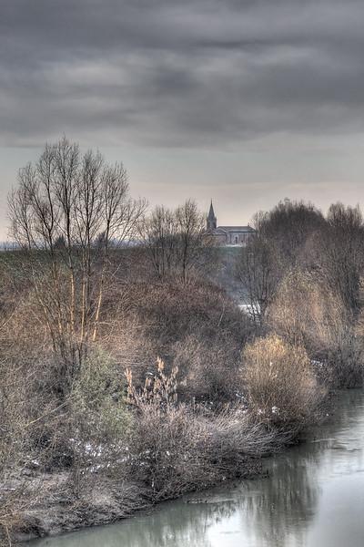 Panaro River - Caselle, Crevalcore, Bologna, Italy - December 10, 2012