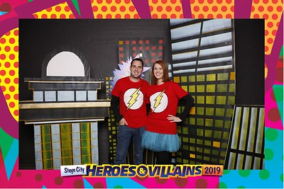 Heroes & Villians Year End Photobooth