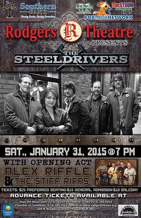 2015 01 31 The Steeldrivers