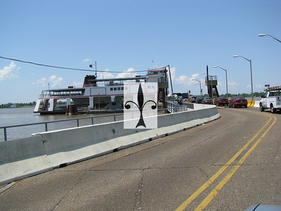 CHALMETTE /  FERRY /  TERMINAL  / TO WEST BANK AND BACK