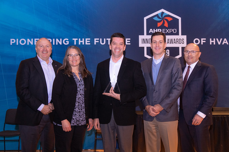 Emerson receives the AHR Expo Innovation Award for Refrigeration