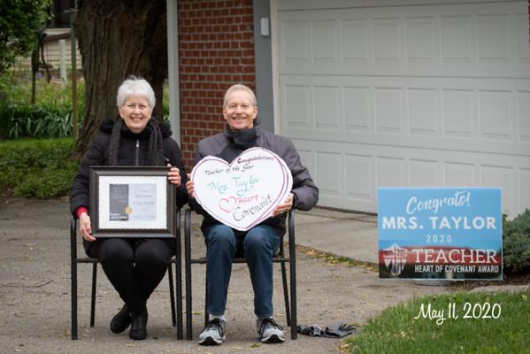 2020 Teacher Heart of Covenant Award