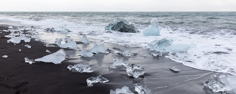 Breiðamerkursandur (Diamond Beach) - South Iceland