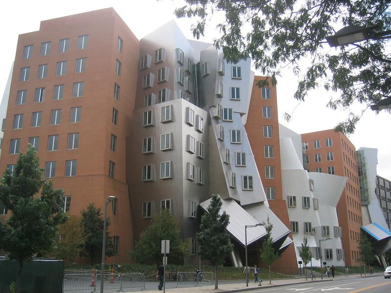 Stata Center. M.I.T. Campus