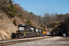 Norfolk Southern<br /> Montgomery Tunnel, Christiansburg, Virginia<br /> November 21, 2010