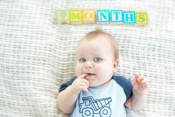 Gabe 9 months