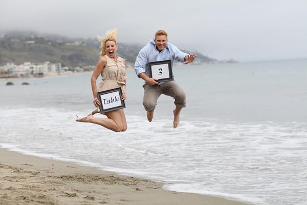 CJ and Tara tables - Malibu, CA