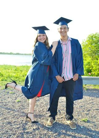 Nicholas & Francesca Graduation 2020