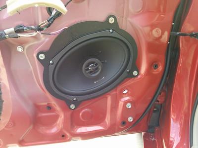 2011 Toyota Camry Front Door Speaker Installation - USA