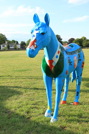 Newmarket Painted Horses